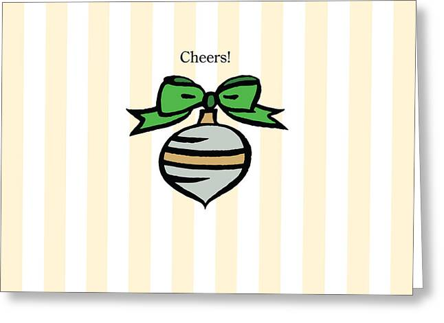 Twinkle In Yellow Greeting Card by Patti Britton