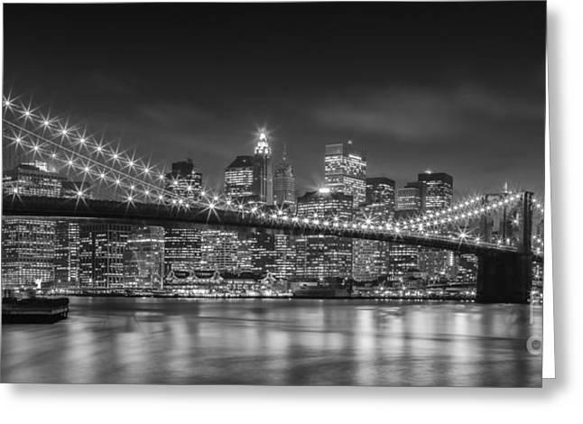 Twinkle, Twinkle Brooklyn Bridge Greeting Card