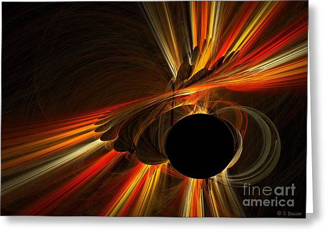 Twist Of Fate Greeting Card by Sandra Bauser Digital Art