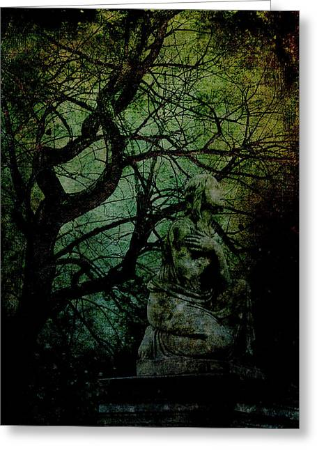 Twisted Sister 2 Greeting Card by Lesa Fine