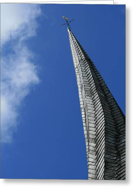Twisted Spire Greeting Card by Cathy Weaver