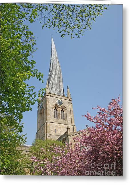 Chesterfield's Twisted Spire Greeting Card