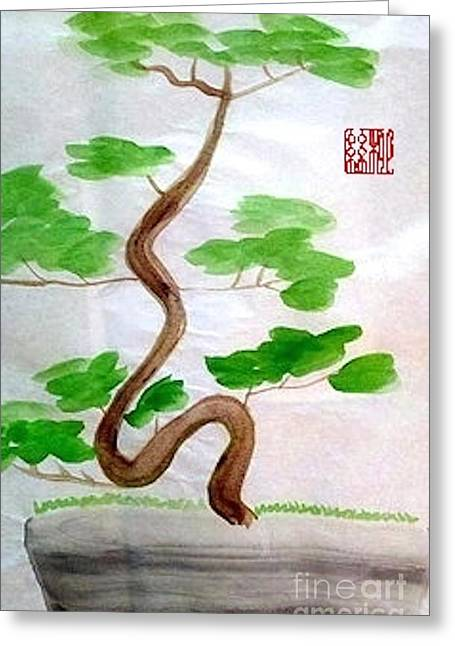Twists And Turns Of Life Greeting Card