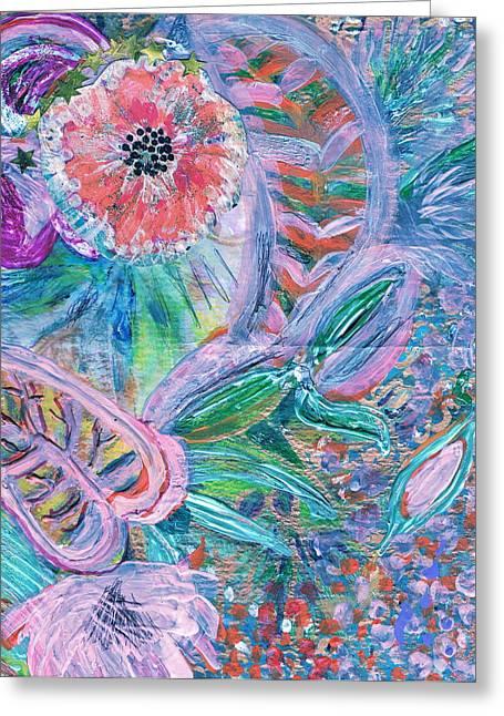 Twisty Greeting Card by Anne-Elizabeth Whiteway