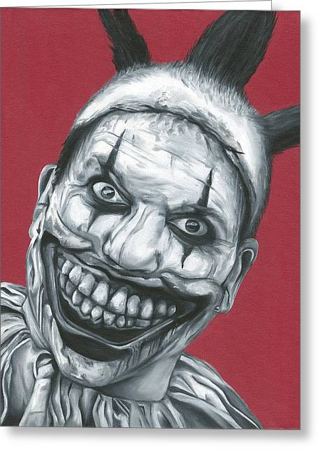 Twisty The Clown Greeting Card