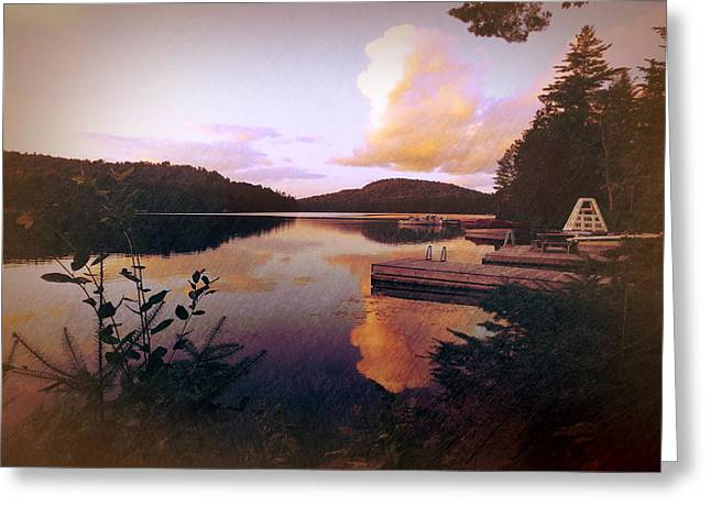 Twitchell At Sunset Greeting Card