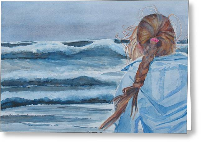 Twixt Wind And Water II Greeting Card by Jenny Armitage