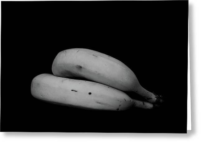 Two Bananas Greeting Card by Tianxin Zheng