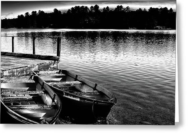 Greeting Card featuring the photograph Two Boats by David Patterson