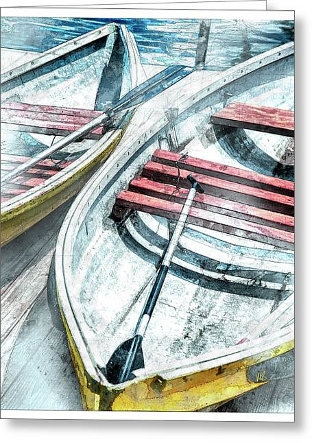 Two Boats To Coconut Cove Greeting Card