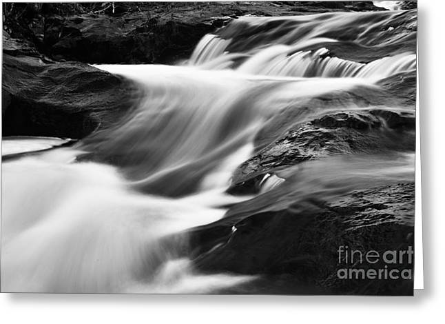 Two Island River Cascade Greeting Card