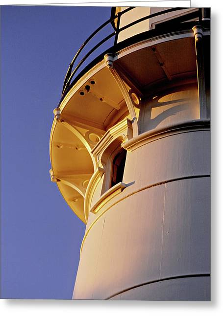 Two Lights, Cape Elizabeth Greeting Card