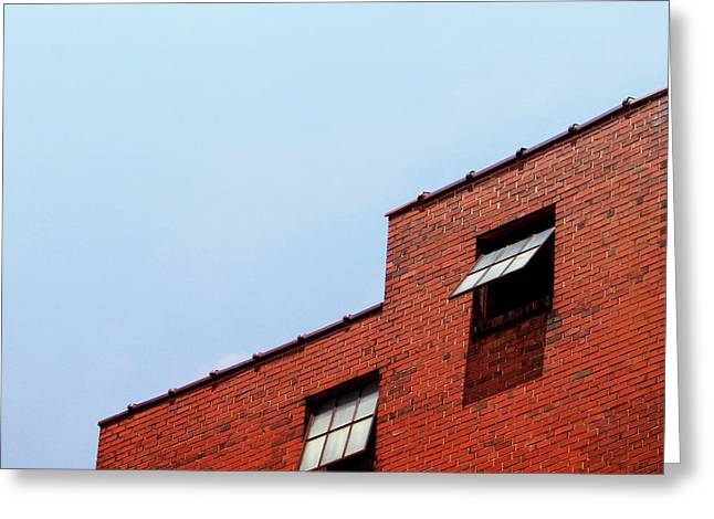 Two Open Windows- Nashville Photography By Linda Woods Greeting Card by Linda Woods
