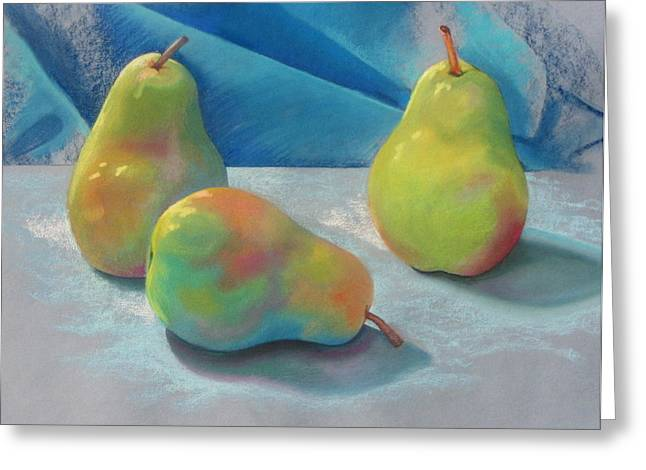 Two Plus One Greeting Card by Shirley Galbrecht