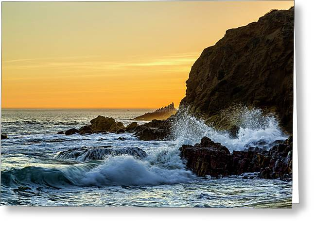 Two Rock Point Greeting Card by Kelley King
