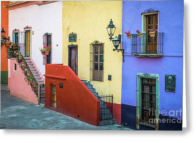 Two Staircases Greeting Card