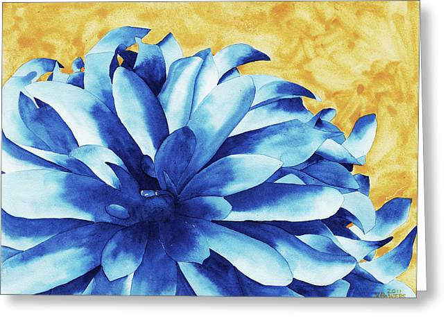 Two Tone Greeting Card by Ken Powers