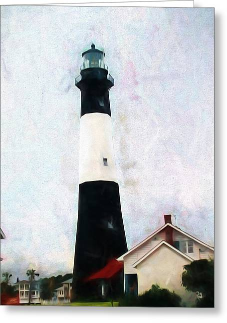 Tybee Lighthouse - Coastal Greeting Card