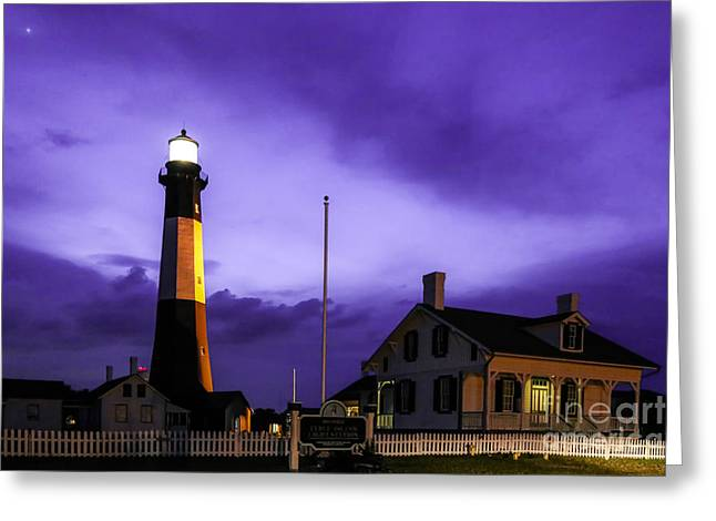 Tybee Purple Haze Greeting Card