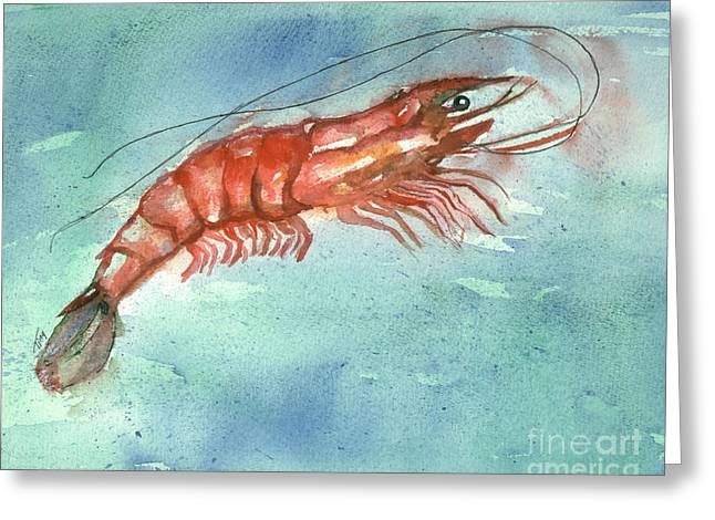 Tybee Wild Shrimp Greeting Card