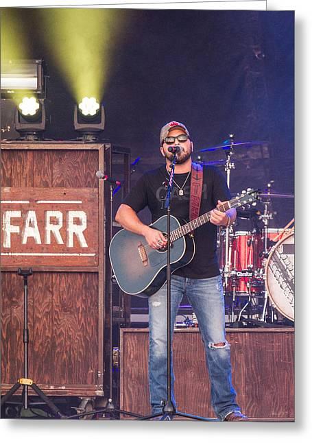 Tyler Farr Guitar Greeting Card