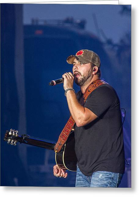 Tyler Farr In Concert Greeting Card