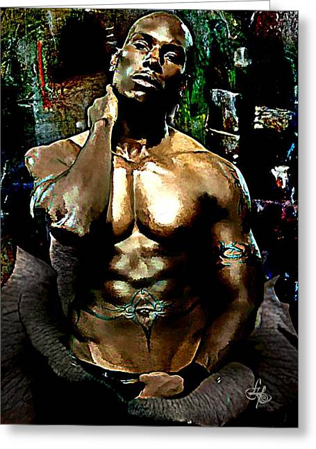 Tyrese  Greeting Card