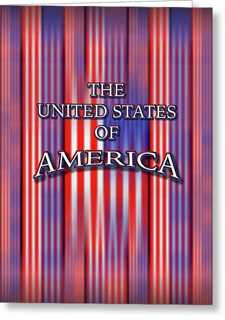 U S A 1 Greeting Card by Mike McGlothlen