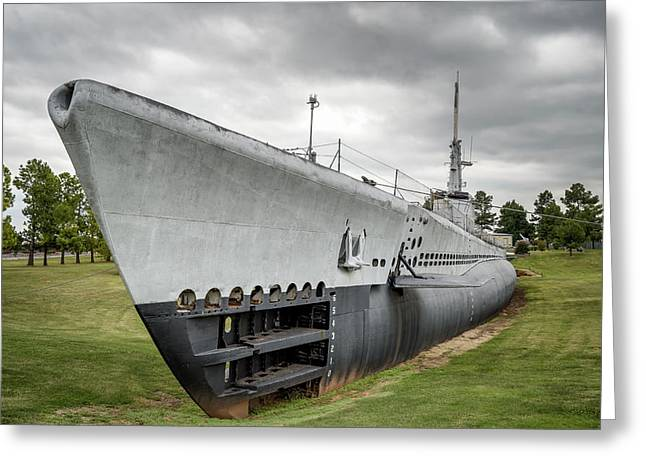 Greeting Card featuring the photograph U. S. S. Batfish by James Barber