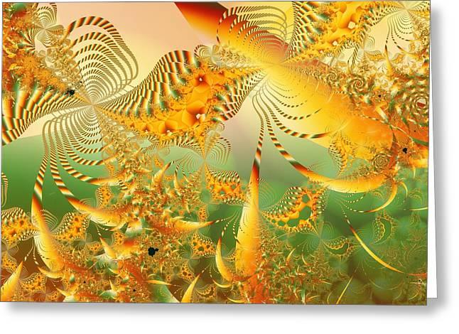 u003 Tropical Mandelreef Greeting Card