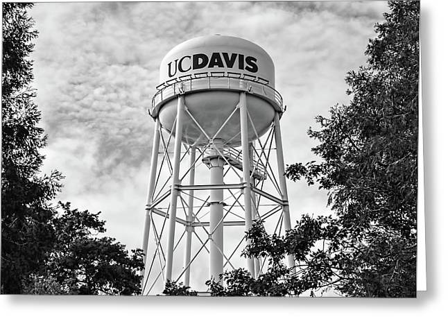 Uc Davis Water Tower Greeting Card by Alessandra RC