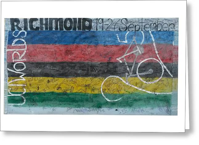 Uci Banner Greeting Card
