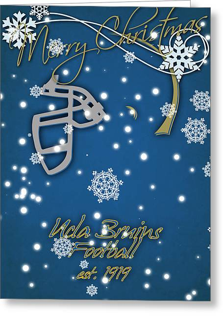 Ucla Bruins Christmas Card Greeting Card by Joe Hamilton