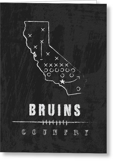 Ucla Bruins Country Greeting Card