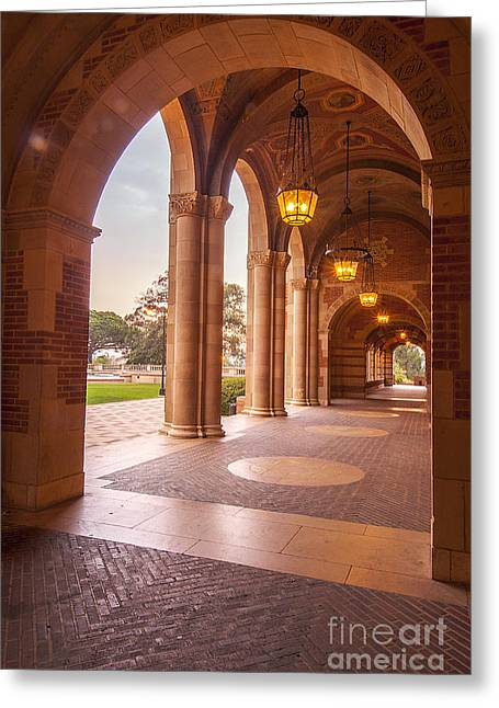 Ucla, California, Architecture Greeting Card