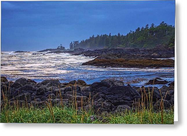 Ucluelet, British Columbia Greeting Card by Heather Vopni