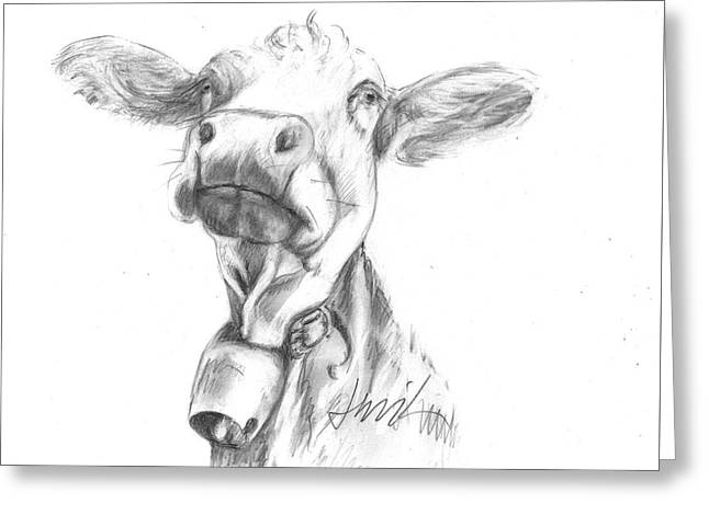 Udderly Fine  Greeting Card
