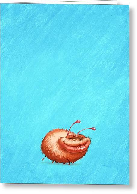 Ugly Bug Greeting Card