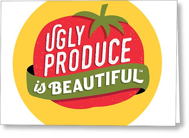 Ugly Produce Is Beautiful Greeting Card
