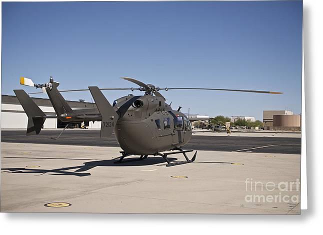 Uh-72 Lakota Helicopter At Pinal Greeting Card