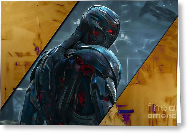 Ultron Collection Greeting Card