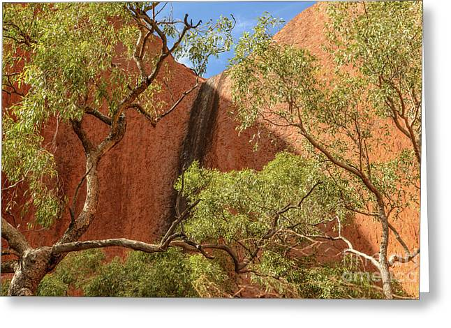 Greeting Card featuring the photograph Uluru 02 by Werner Padarin