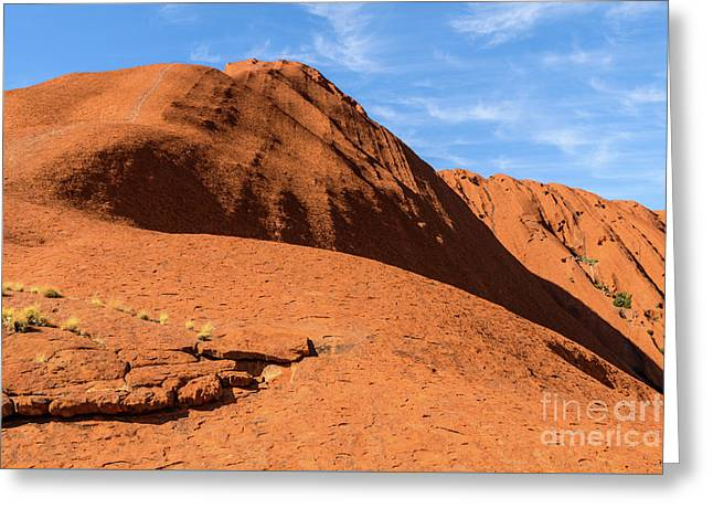 Greeting Card featuring the photograph Uluru 04 by Werner Padarin