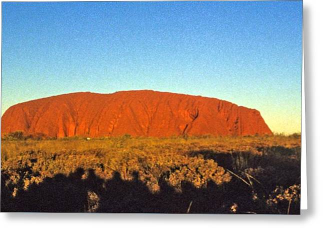 Uluru Greeting Card