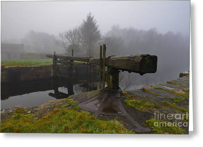 Ulverston Canal Greeting Card by Nichola Denny