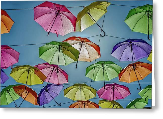 Umbrella Love Greeting Card