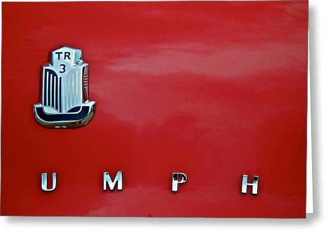Umph Greeting Card by Odd Jeppesen