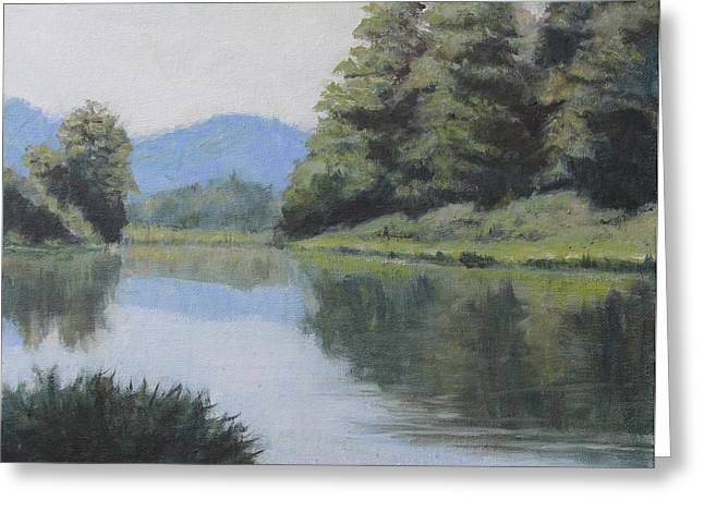 Umpqua River Greeting Card