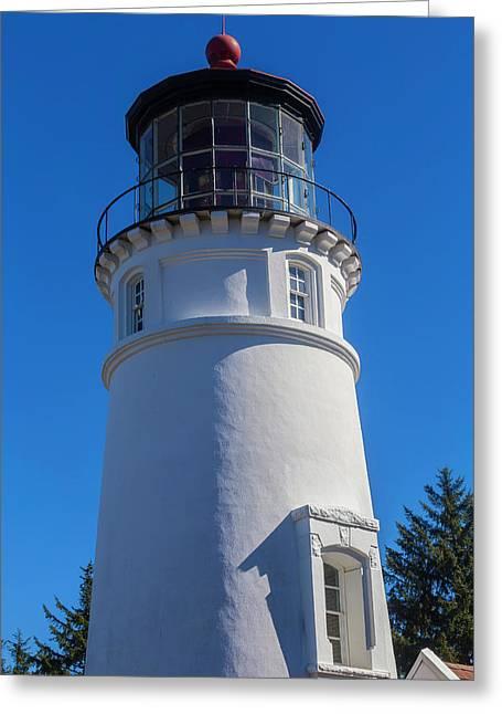 Umpqua River Lighthouse Oregon 2 Greeting Card by Garry Gay