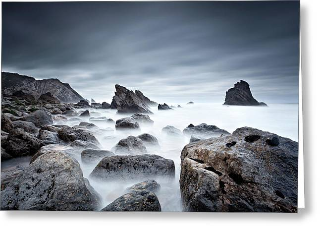 Greeting Card featuring the photograph Unbreakable by Jorge Maia